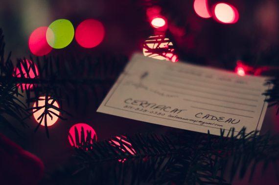 certificat cadeau bon d'achat